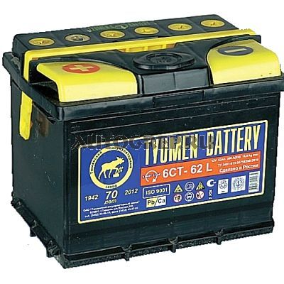 TYUMEN BATTERY 6CT-62L
