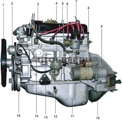 Двигатель УМЗ-4215.10 Газель